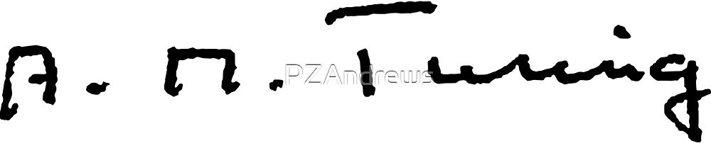 Signature of Alan Turing by PZAndrews