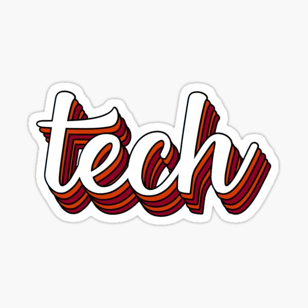 tech Sticker
