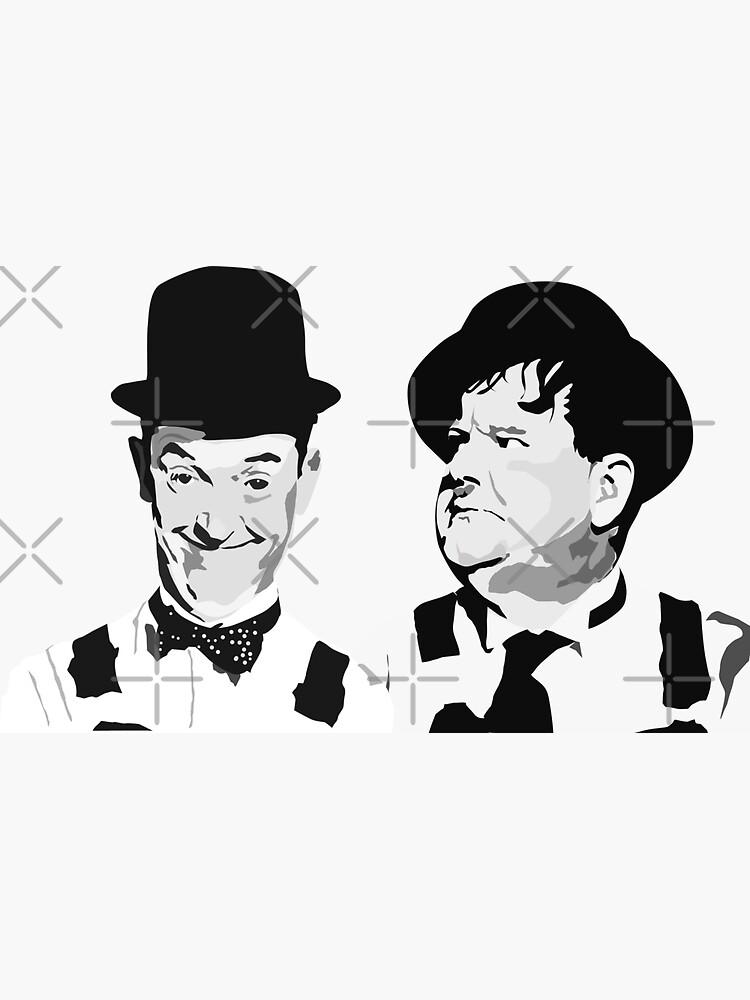 Laurel & Hardy  best friends by mayerarts