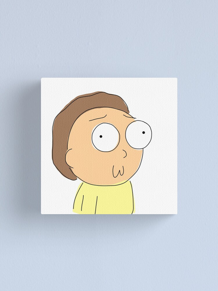 Alternate view of Morty Canvas Print