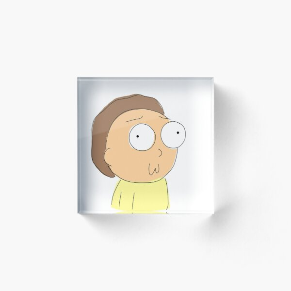 Morty Acrylic Block