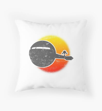 USS A One Space Discovery Odyssey Ascend 2001 Light Throw Pillow