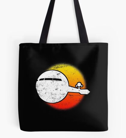 USS A One Space Discovery Odyssey Ascend 2001 Dark Tote Bag