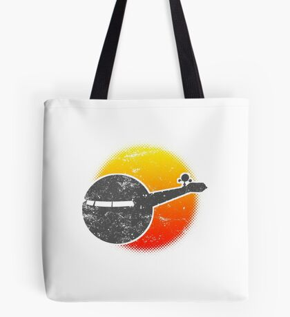 USS A One Space Discovery Odyssey Approach 2001 Light Tote Bag