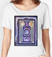 Camera Lover Women's Relaxed Fit T-Shirt