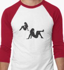 pinup tee Men's Baseball ¾ T-Shirt
