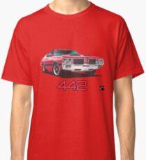 Geo3 Oldsmobile 442 Doodle Classic T-Shirt