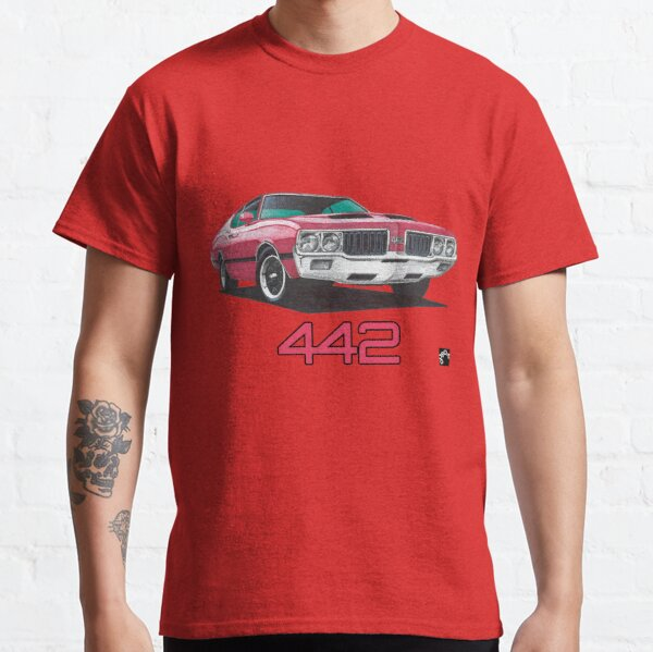 Geo3 Oldsmobile 442 Doodle Classic T-Shirt