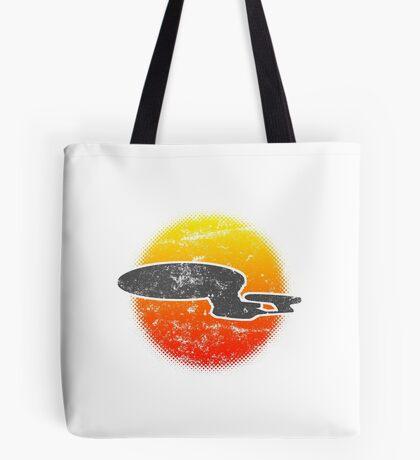 Galaxy D Class Starship 1701 - Light Tote Bag