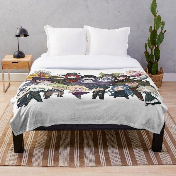 Dangan Ronpa V3 Chibi Collection Throw Blanket