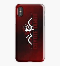 Coyote Tango (var 2) iPhone Case/Skin