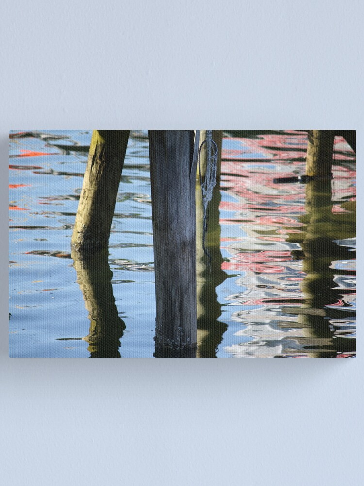 Alternate view of Under the Dock Canvas Print