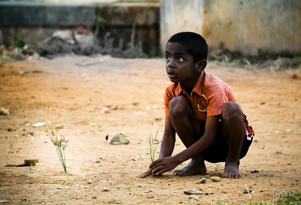 intelligent boy by Dinni H