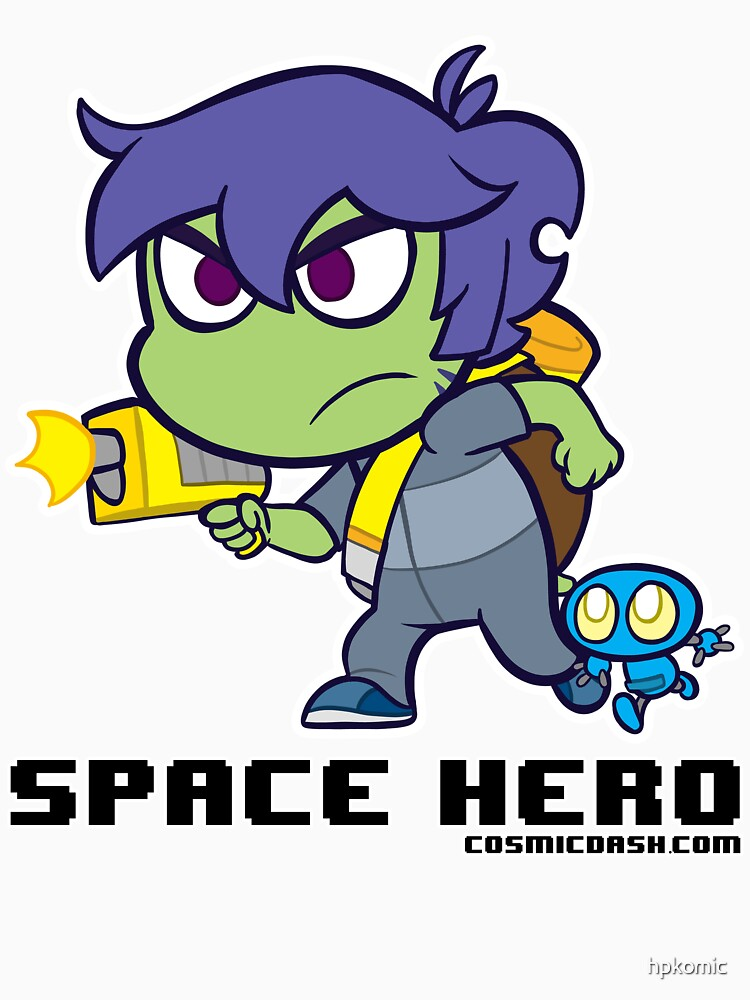 Space Hero by hpkomic