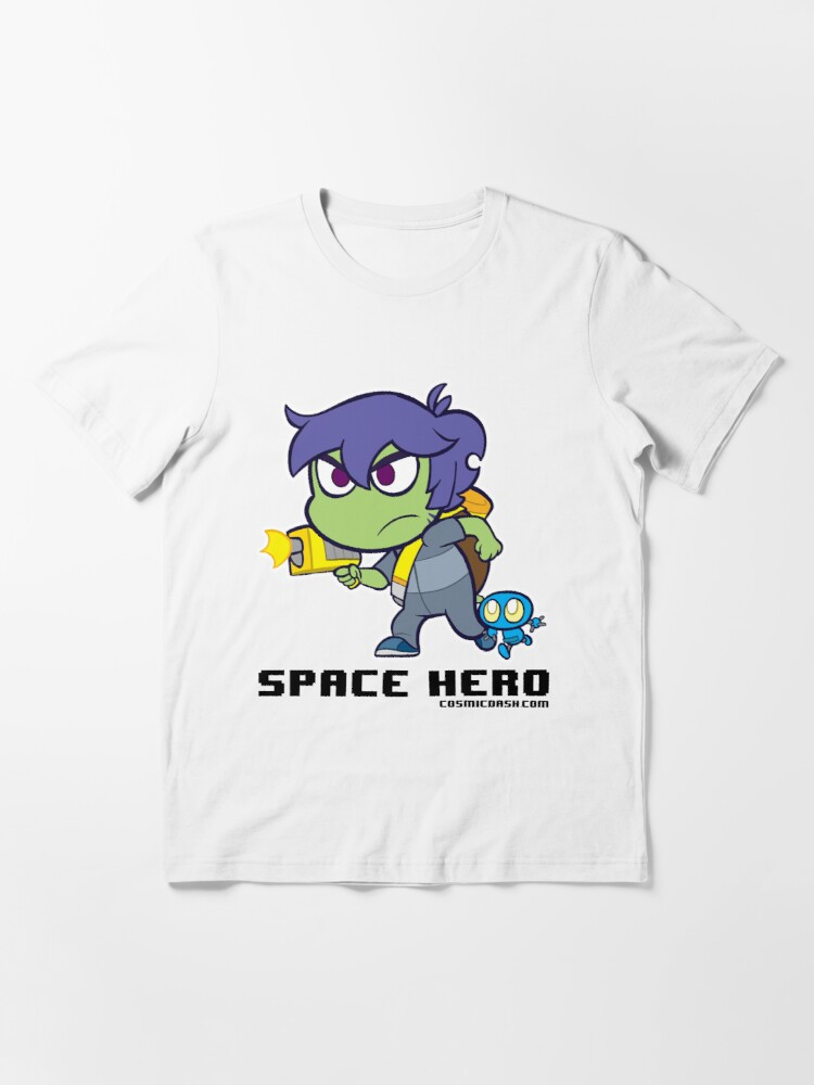 Alternate view of Space Hero Essential T-Shirt