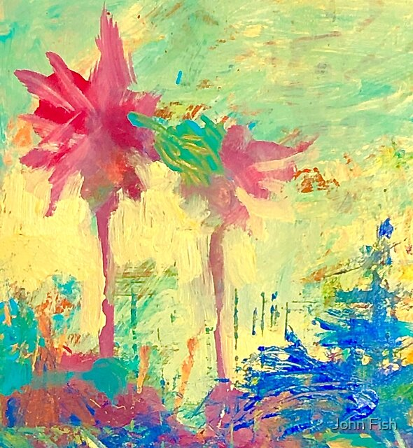 Palm Explosion by John Fish