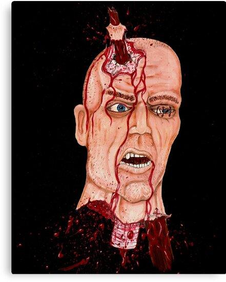 Impailed head by PJScoggins