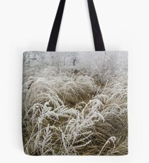 Winter in the countryside Tote Bag