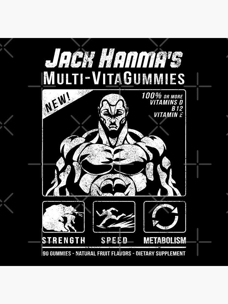 Jack Hanma's Multi-VitaGummies | Photographic Print