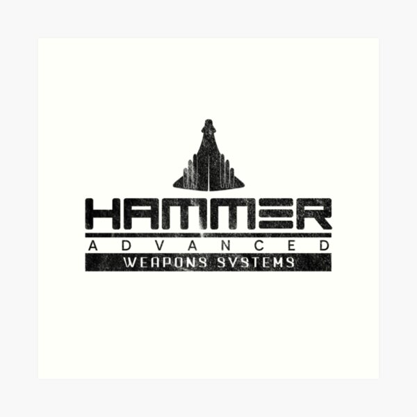 Hammer Industries Advanced Weapons Systems Art Print