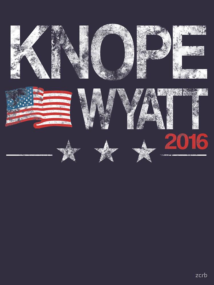 Knope Wyatt Distressed  | Unisex T-Shirt