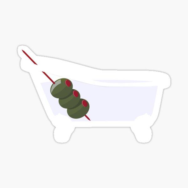 Phish Bathtub Gin by Custeez Sticker