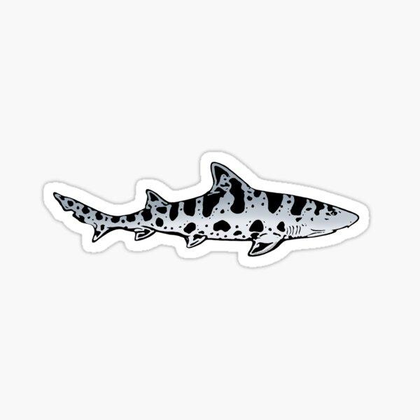 Leopard Shark Sticker