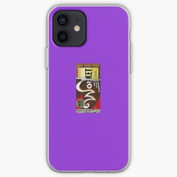 Wonka Bar with Golden Ticket iPhone Soft Case