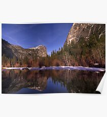 Mirror Lake Reflections Poster