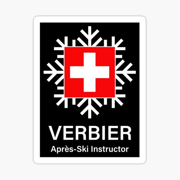 Verbier Apres Ski Instructor Sticker