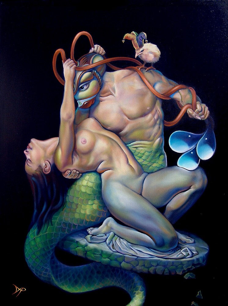 Pygmalion and Galatea by Patrick Pierson