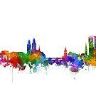 zurich skyline by BekimART