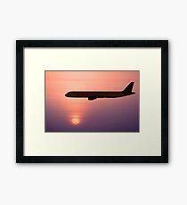 Jet Liner Framed Print
