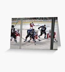 Colorado Avalanche Opening Night 2011 Greeting Card