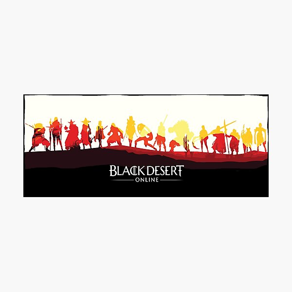 Black Desert Online - Versión Light Lámina fotográfica