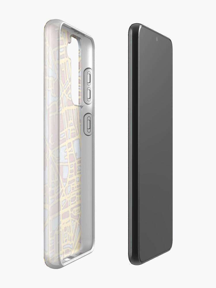 Alternate view of Oranjestad, Aruba Case & Skin for Samsung Galaxy