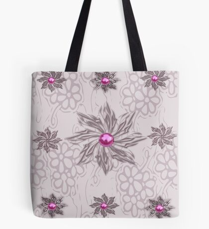 Floral pattern  (5669 Views) Tote Bag