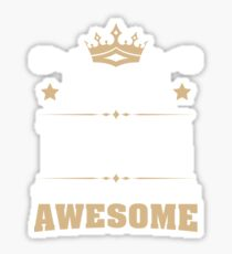 May 1978 41 Years Of Being Awesome Sticker