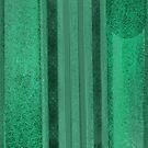Green Speckled Stripes by Annette Marionneaux Stevenson
