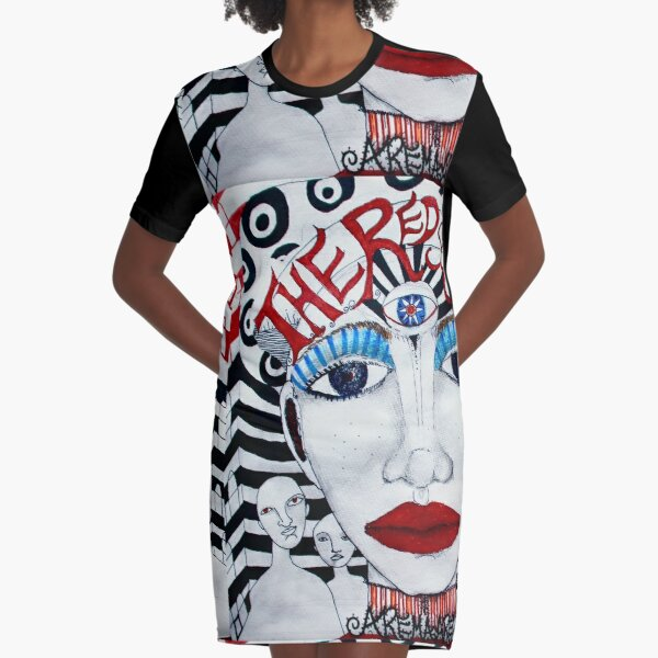 The Red Soundtracks - Drawing Vestido camiseta