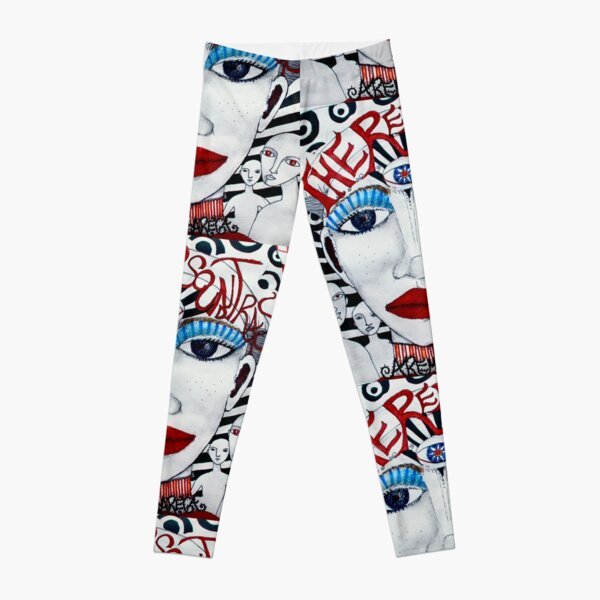The Red Soundtracks - Drawing Leggings