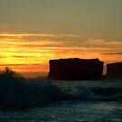 Sherbrooke Beach,Great Ocean Road by Joe Mortelliti