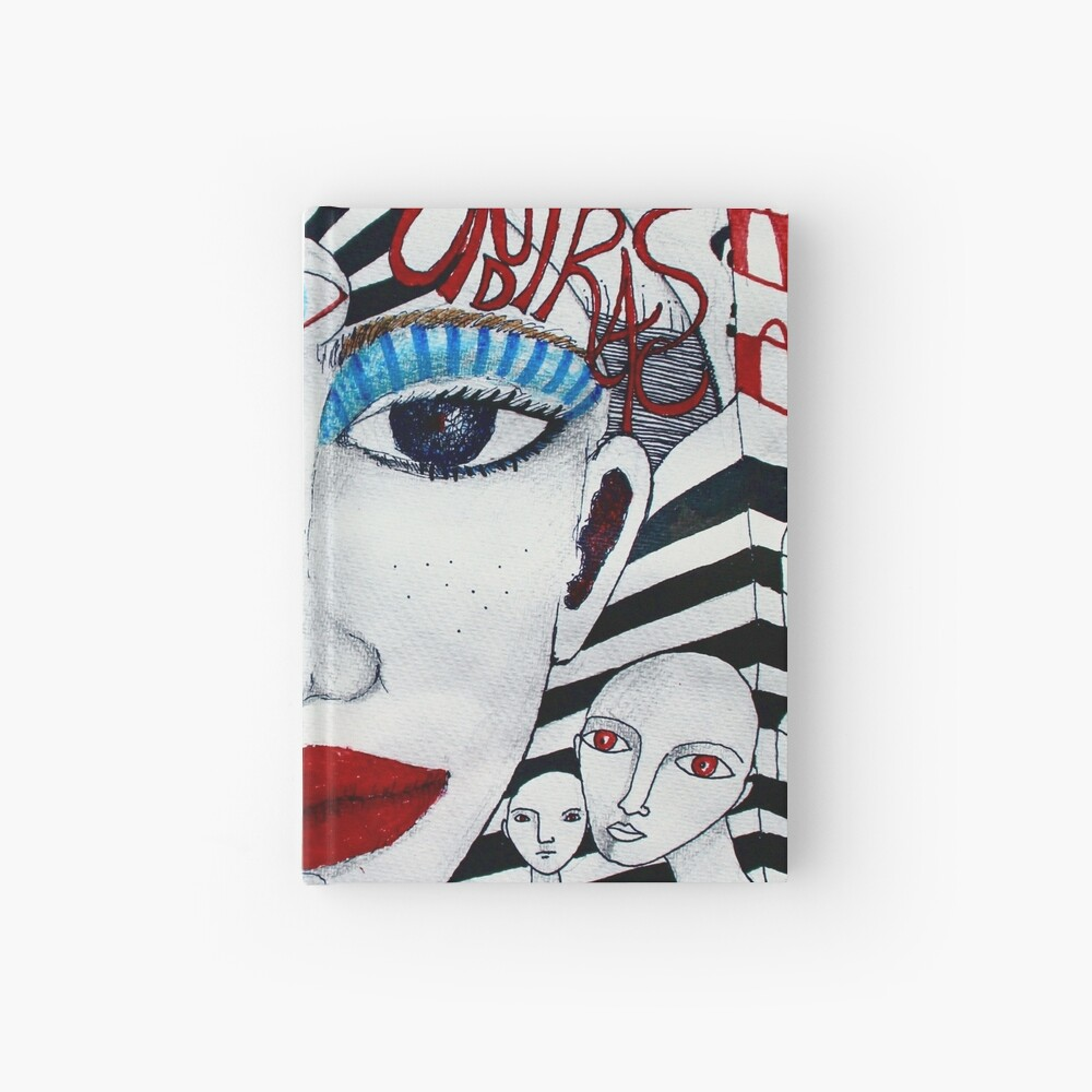 The Red Soundtracks - Drawing Hardcover Journal