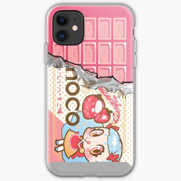 bessette strawberry-choco iPhone Soft Case