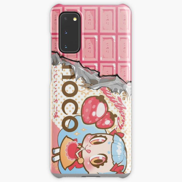 bessette strawberry-choco Samsung Galaxy Snap Case