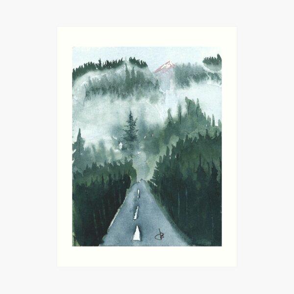 Port Orchard, WA   Watercolor Art Print
