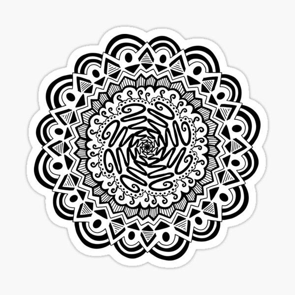IMD Zentangle 4 Sticker