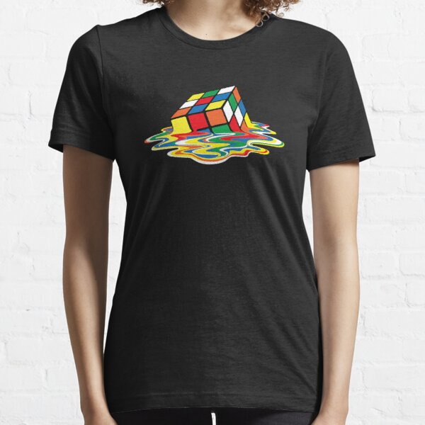 Melted Rubik's Cube Essential T-Shirt