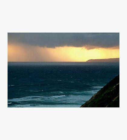 Sunset Rain, Cape Otway,Great Ocean Road Photographic Print