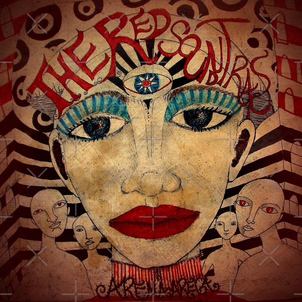 «The Red Soundtracks - Art Cover» de Arema Arega